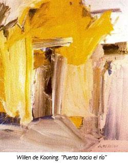 """""""Puerta hacia el río"""" de Willen De Kooning"""