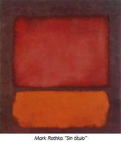 """""""Sin título"""" de Mark Rothko"""