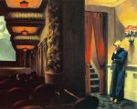 """New York movie"" de Edward Hopper"