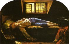 La muerte de Chaterton. Wallis