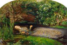 Ofelia. John Everett Millais