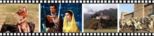 Fotogramas de la película Ivanhoe