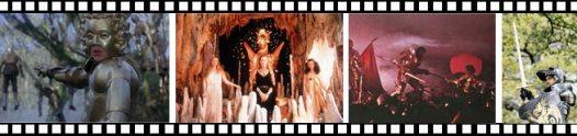 Fotogramas de la película Excalibur