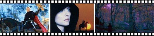 Fotogramas de la película Lady Halcón