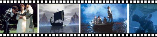Fotogramas de la película Remando al viento