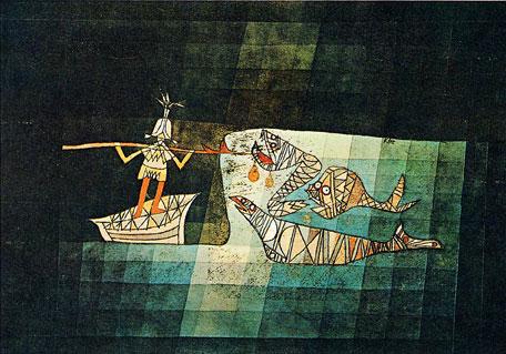 escena de la ópera cómica El navegante