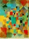 Jardines tunecinos sureños Paul Klee