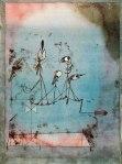 Máquina temblorosa Paul Klee