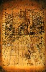 Perspectiva de una habitación con sus habitantes Paul Klee