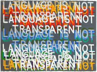 Mel Bochner_Language is not transparent