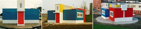 Caseta para la dirección de las obras Oud-Mathenesse en Rotterdam