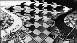 Día y noche. Maurits Cornelis Escher