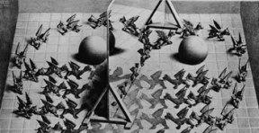 Espejo mágico. Maurits Cornelis Escher