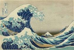 La gran ola de Kanagawa. Katsushika Hokusai