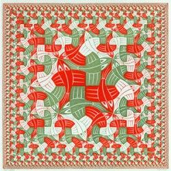 Límite cuadrado. Maurits Cornelis Escher