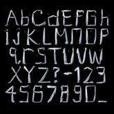 Bravo company. Bedsheet Typography