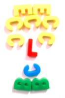 cara barbuda de letras