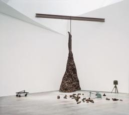 Joseph Beuys-Rayo iluminando un venado