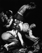 Robert Longo - Heritage. Untitled (After Caravaggio, Crucifixion of St. Peter, 1601)