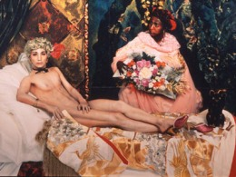 Yasumasa Morimura - Olympia after Monet