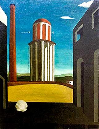 Giorgio De Chirico-El regreso del poeta