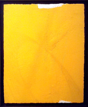 Ángel Alonso-Parcele de jaune de chrome et repères