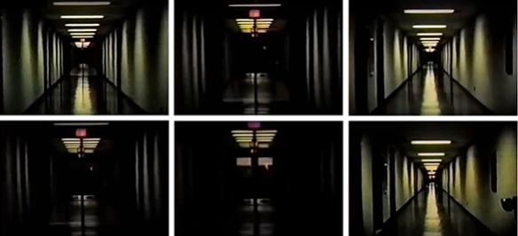"Fotogramas de ""Serene Velocity"" de Ernie Gehr"
