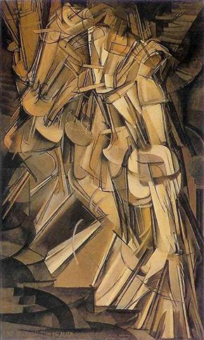 Marcel Duchamp-Desnudo bajando una escalera. Nº 2
